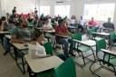 Educadores de outras instituições também participaram da capacitação.