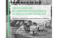 Evento será realizado no dia 9 de maio, a partir das 8h30min, no Campus Bom Jesus.