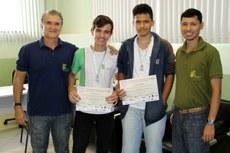 Carlos Freitas, André Souza, Gabriel Dias e Rodrigo Lacerda.