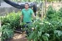 Responsável pelo setor de produção de mudas do IFF Bom Jesus, quem também recebe as sementes.