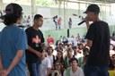 Batalha de Rap demonstrou toda criatividade de rappers de Bom Jesus e Itaperuna.