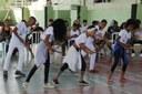 Grupo de dança do projeto Recriart, de Santo Antônio de Pádua, encantaram a plateia com apresentações de dança.