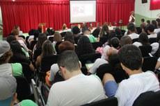 Palestras abordaram temas como preconceito, história, e cultura.