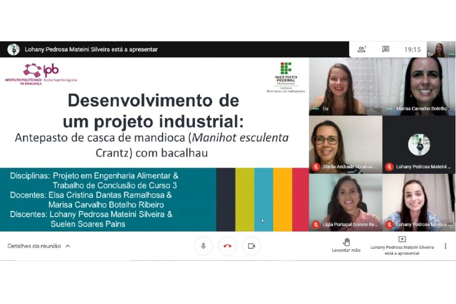 Primeiro TCC desenvolvido em parceria com instituição portuguesa é defendido no IFF Bom Jesus