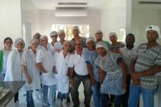 Aulas aconteceram no novo laboratório de panificação do Campus Bom Jesus.