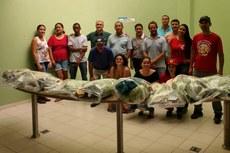 Produtores receberam capacitação para cultivo de frutas, verduras e legumes livres de agrotóxicos.