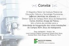 Inaugurações acontecerão às 14h.