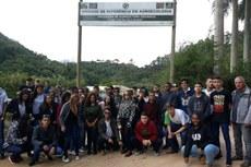 Venda Nova do Imigrante e Alto Caxixe foram os destinos da turma.
