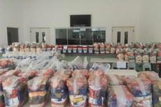 300 cestas fora disponibilizadas para os estudantes