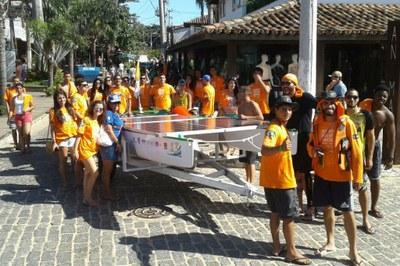 O projeto do barco Solaris conta com uma equipe multicampi