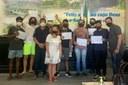 Alunos do Campus Avançado Cambuci recebem medalhas e certificados da OBA