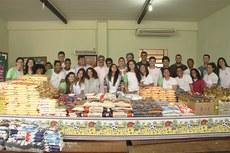 Alimentos arrecadados pelos alunos beneficiarão quatro instituições da região