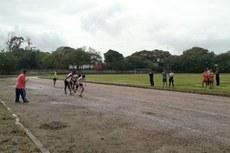 Atletas durante a etapa que encerrou a 3.ª Edição dos Jogos Intercampi do Instituto Federal Fluminense (Jiniff), em 29 de julho de 2016.