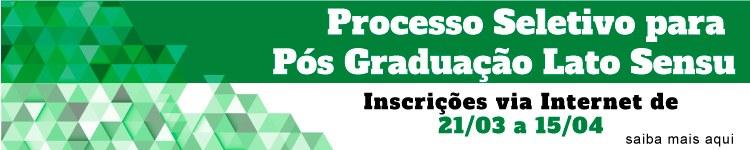 Inscrições abertas para cursos de Pós-Graduação oferecidos gratuitamente