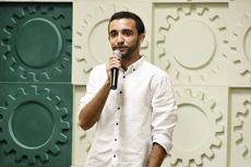 Heitor Vasconcelos é aluno de Engenharia Elétrica do IFF Campos Centro e diretor-vice-presidente da Áurea, empresa júnior do campus.Foto: DIvulgação
