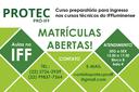 O Curso Protec PRÓ-IFF oferece até 400 vagas