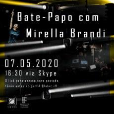 Bate papo com a artista multimídia e designer Mirella Brandi