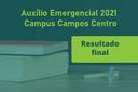 Lista final com estudantes que irão receber o auxílio emergencial
