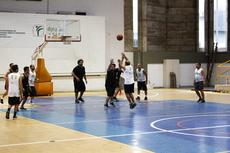 O basquete masculino abriu a sequência de jogos da fase classificatória (Foto: Raphaella Cordeiro).