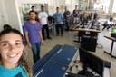 Bolsistas da DTIC realizam mudanças no Micródromo / (Fotos: DTIC)