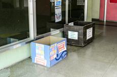 A caixa já está disponível para receber doações.