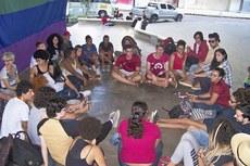 A discussão das minorias foi realizada na Concha Acústica.