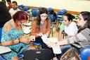 Grupo participa de confecção de objeto pedagógico para uso na internet (Fotos: Núcleo de Imagens do IFF/Diomarcelo Pessanha)