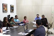 Conselheiros do campus aprovaram estudo sobre a extinção do Curso Tecnológico de Design e a criação do Bacharelado. (Fotos: Raphaella Cordeiro)
