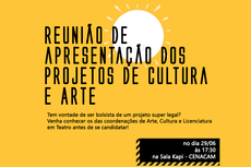 Coordenação de Arte e Cultura convida estudantes a conhecerem seus projetos para o Campus Campos Centro do IFF.