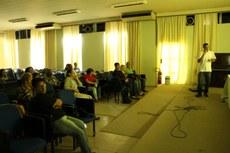 A Aula Inaugural do curso foi realizada no Auditório Miguel Ramalho, no dia 11 de setembro (Foto: Núcleo de Imagens do IFF)