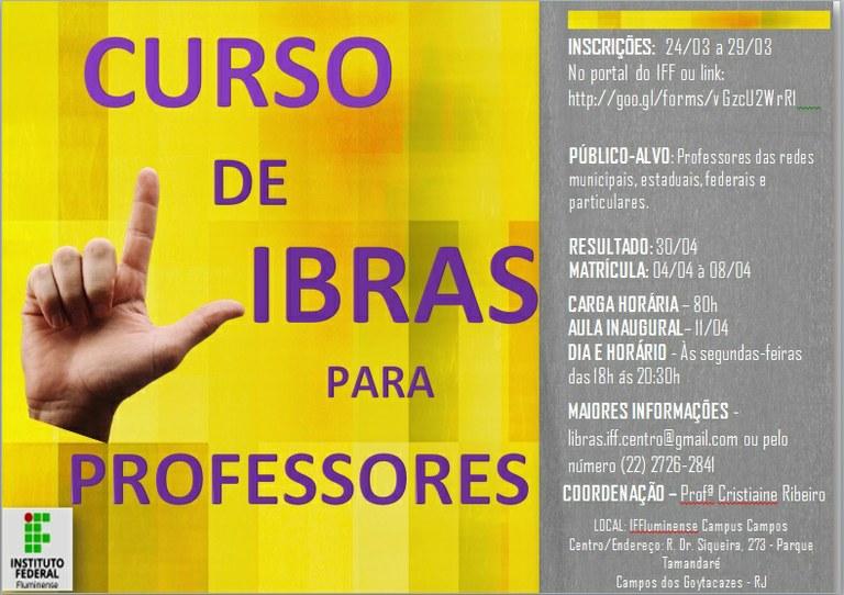 Curso de Libras para Professores