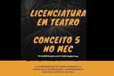 MEC atribui nota máxima ao Curso de Licenciatura em Teatro do IFF Campos Centro