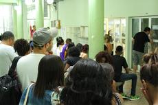 No último dia, a Central de Inscrições recebeu um grande número de candidatos (Foto: Rakenny Braga)