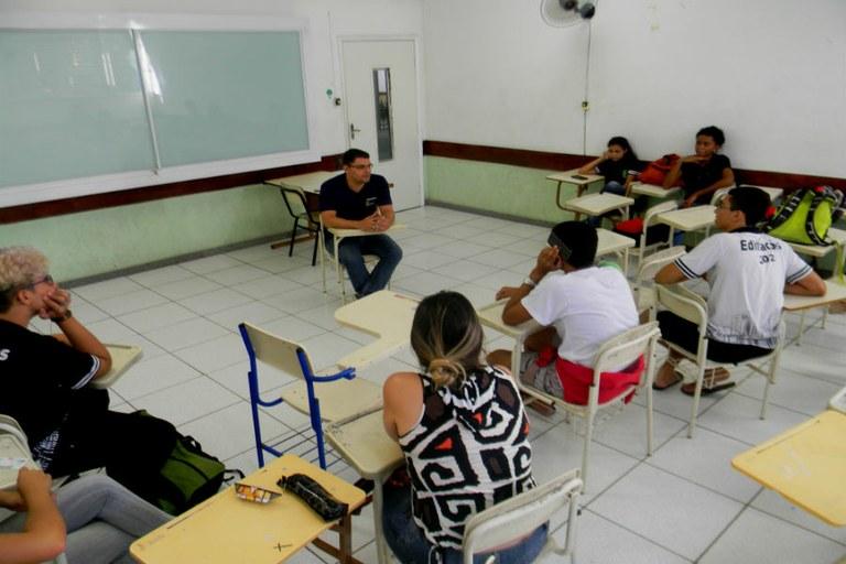 Estudantes aprovados em graduações