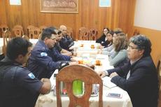 Carlos Alberto convidou o comando da PM para ministrar palestras sobre prevenção no campus.