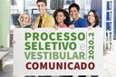 2ª reclassificação do Processo Seletivo e Vestibular 2020- 2º semestre
