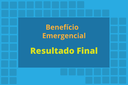 Resultado final do processo de concessão de benefício emergencial
