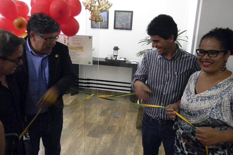 Inauguração das instalações da Gestão de Pessoas