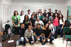 Alunos da graduação que integram a Áurea. (Foto: Divulgação)