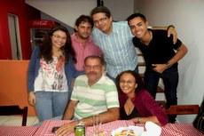 José Maria, Janaína e amigos.