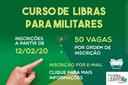 Faça Fácil Libras abre vagas para militares aprenderem a linguagem de sinais