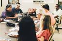 Os diretores do campus na terceira reunião da série (Foto: Diomarcello Pessanha).