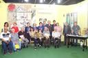 Professores, alunos do curso e gestores do IFF no Espaço Raul Linhares (Foto: Raphaella Cordeiro)