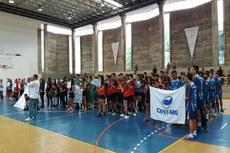 Os times de Handebol e Vôlei de Praia disputam etapa dos jogos que acontecerão em várias modalidades até o final do ano (Foto: Danuza Santos)