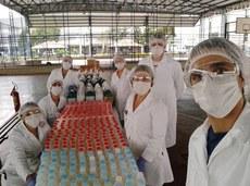 Equipe de professores do Curso Técnico em Química.Foto: Divulgação
