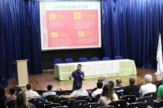 A primeira atividade do evento foi realizada antes da abertura oficial (Foto:Raphaella Cordeiro)