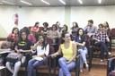 Bolsistas e servidores durante a apresentação dos trabalhos (Diomarcelo Pessanha/Núcleo de Imagens do IFF)