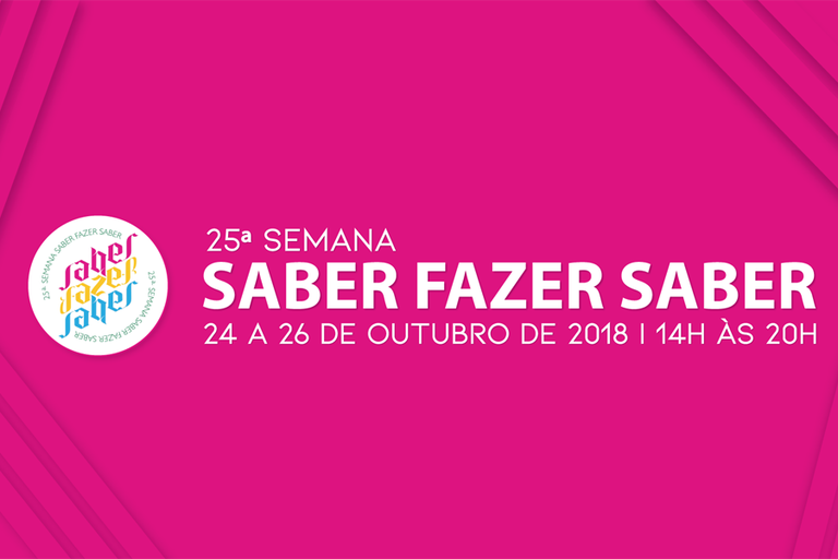 IFF convida a comunidade a participar de mais uma Semana do Saber Fazer Saber