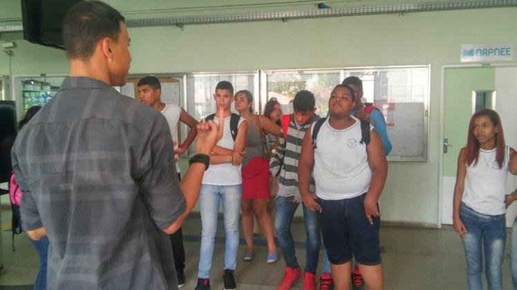 Estudantes são do 9º ano da Escola Municipal Amaro Prata Tavares