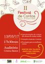 Programação do 2º Festival de Contos do Ensino Médio do IFF.